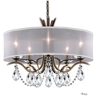Schonbek VA8305N-23H1 Vesca 5 Light 24 inch Etruscan Gold Chandelier Ceiling Light in Vesca Heritage Vesca White
