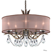 Schonbek VA8305N-23H3 Vesca 5 Light 24 inch Etruscan Gold Chandelier Ceiling Light in Vesca Heritage Vesca Bronze
