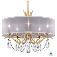 Schonbek VA8305N-26A1 Vesca 5 Light 24 inch French Gold Chandelier Ceiling Light in Vesca Spectra Vesca White