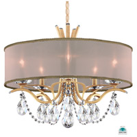 French Gold Vesca Chandeliers