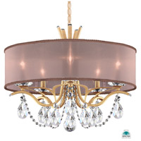 Schonbek VA8305N-26A3 Vesca 5 Light 24 inch French Gold Chandelier Ceiling Light in Vesca Spectra Vesca Bronze