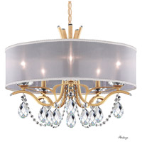 Schonbek VA8305N-26H1 Vesca 5 Light 24 inch French Gold Chandelier Ceiling Light in Vesca Heritage Vesca White