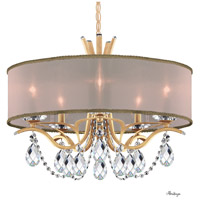 Schonbek VA8305N-26H2 Vesca 5 Light 24 inch French Gold Chandelier Ceiling Light in Vesca Gold Vesca Heritage