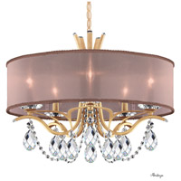 Schonbek VA8305N-26H3 Vesca 5 Light 24 inch French Gold Chandelier Ceiling Light in Vesca Heritage Vesca Bronze