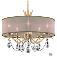 Schonbek VA8305N-26S2 Vesca 5 Light 24 inch French Gold Chandelier Ceiling Light in Vesca Swarovski Vesca Gold