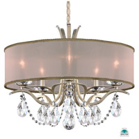 Schonbek VA8305N-48A2 Vesca 5 Light 24 inch Antique Silver Chandelier Ceiling Light in Vesca Spectra Vesca Gold