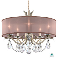 Schonbek VA8305N-48A3 Vesca 5 Light 24 inch Antique Silver Chandelier Ceiling Light in Vesca Spectra Vesca Bronze
