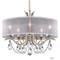 Schonbek VA8305N-48H1 Vesca 5 Light 24 inch Antique Silver Chandelier Ceiling Light in Vesca Heritage Vesca White