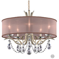 Vesca 5 Light 24 inch Antique Silver Chandelier Ceiling Light