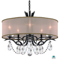 Vesca 5 Light 24 inch Ferro Black Chandelier Ceiling Light