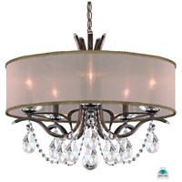 Schonbek VA8305N-76A2 Vesca 5 Light 24 inch Heirloom Bronze Chandelier Ceiling Light in Gold Clear Spectra