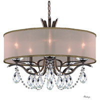 Schonbek VA8305N-76H2 Vesca 5 Light 24 inch Heirloom Bronze Chandelier Ceiling Light in Gold Clear Heritage