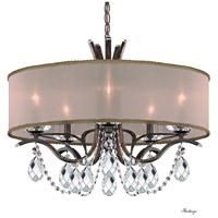 Schonbek VA8305N-76H2 Vesca 5 Light 24 inch Heirloom Bronze Chandelier Ceiling Light in Vesca Gold Vesca Heritage