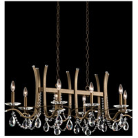 Schonbek VA8435N-23A Vesca 8 Light 24 inch Etruscan Gold Chandelier Ceiling Light in Spectra Cast Etruscan Gold