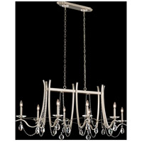 Schonbek VA8436N-48S Vesca Antique Silver Chandelier Ceiling Light in Swarovski Cast Antique Silver