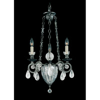 Schonbek Vendome 4 Light Chandelier in Antique Pewter and Clear Rock Crystal Trim 5792-47 photo thumbnail