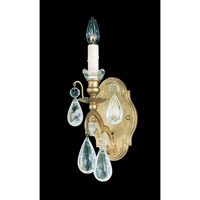 Schonbek Versailles Rock Crystal 1 Light Wall Sconce in Heirloom Gold and Clear Rock Trim 2456-22