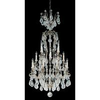Schonbek 2482-23 Versailles Rock Crystal 16 Light 29 inch Etruscan Gold Chandelier Ceiling Light