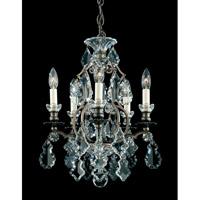 Schonbek 2769-76 Versailles 5 Light 15 inch Heirloom Bronze Chandelier Ceiling Light photo thumbnail