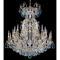Versailles 25 Light 45 inch Heirloom Gold Chandelier Ceiling Light
