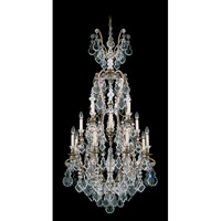 Schonbek Versailles 17 Light Chandelier in Etruscan Gold and Clear Heritage Handcut Trim 2782-23 photo thumbnail