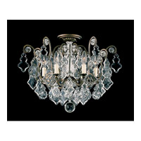 Versailles 6 Light 20 inch Heirloom Bronze Flush Mount Ceiling Light