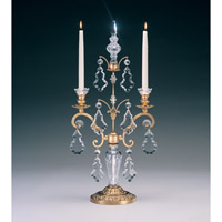 Schonbek Versailles Candelabra in Heirloom Gold and Clear Heritage Handcut Trim 71002-22