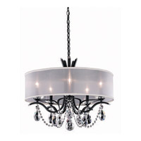 Schonbek Vesca 5 Light Chandelier in Ferro Black and Spectra Crystal VA8305N-59A1