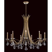 Vesca 9 Light 45 inch Heirloom Gold Chandelier Ceiling Light in Clear Heritage