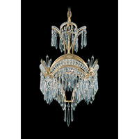 Schonbek Victorian 1 Light Chandelier in Heirloom Gold and Clear Heritage Handcut Trim 5750-22