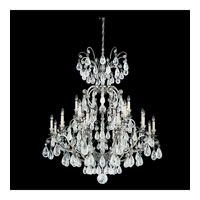 Schonbek Versailles Rock Crystal 25 Light Chandelier in Antique Pewter and Clear Rock Trim 2474-47