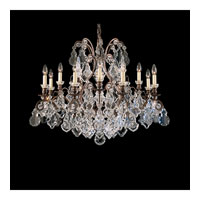 Schonbek Versailles 13 Light Chandelier in Natural Rust and Clear Heritage Handcut Trim 2790-42