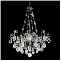 Schonbek 2487-22 Versailles Rock Crystal 8 Light 27 inch Heirloom Gold Chandelier Ceiling Light