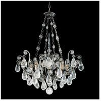 Schonbek 2487-23 Versailles Rock Crystal 8 Light 27 inch Etruscan Gold Chandelier Ceiling Light