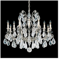 Schonbek 2490-22 Versailles Rock Crystal 12 Light 33 inch Heirloom Gold Chandelier Ceiling Light
