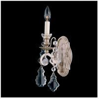 Schonbek 2756-48 Versailles 1 Light 6 inch Antique Silver Wall Sconce Wall Light