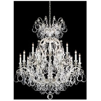 Versailles 16 Light 38 inch Antique Silver Chandelier Ceiling Light