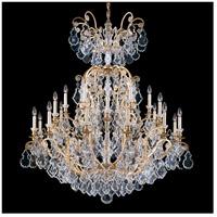 Schonbek 2774-22 Versailles 25 Light 45 inch Heirloom Gold Chandelier Ceiling Light