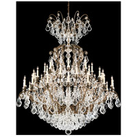 Versailles 40 Light 60 inch French Gold Chandelier Ceiling Light