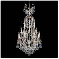 Versailles 17 Light 28 inch Etruscan Gold Chandelier Ceiling Light