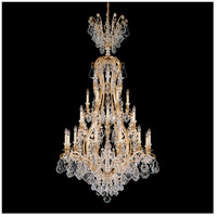 Schonbek 2783-51 Versailles 25 Light 36 inch Black Chandelier Ceiling Light