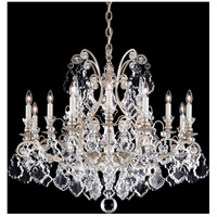 Versailles 13 Light 33 inch Antique Silver Chandelier Ceiling Light