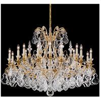 Schonbek 2792-22 Versailles 19 Light 40 inch Heirloom Gold Chandelier Ceiling Light