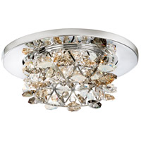 Vertex MR16 Stainless Steel Recessed Lighting in Clear Spectra, Geometrix