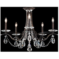 Schonbek VA8312N-76H Vesca 5 Light 29 inch Heirloom Bronze Semi-Flush Mount Ceiling Light in Clear Heritage