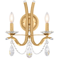 Schonbek VA8332N-06H Vesca 2 Light 13 inch White Wall Sconce Wall Light in Vesca Heritage photo thumbnail