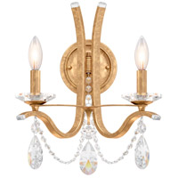 Schonbek VA8332N-26H Vesca 2 Light 9 inch French Gold Wall Sconce Wall Light in Vesca Heritage