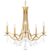 Schonbek VA8335N-22H Vesca 5 Light 29 inch Heirloom Gold Chandelier Ceiling Light in Clear Heritage