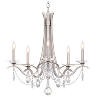 Schonbek VA8335N-48H Vesca 5 Light 29 inch Antique Silver Chandelier Ceiling Light in Vesca Heritage