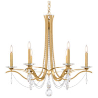 Schonbek VA8336N-22A Vesca 6 Light 33 inch Heirloom Gold Chandelier Ceiling Light in Clear Spectra